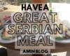 【セルビアのご飯】セルビア人が普段食べてる家庭料理
